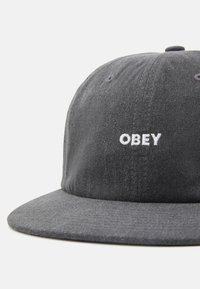 Obey Clothing - PIGMENT PANEL STRAPBACK UNISEX - Cap - black - 3