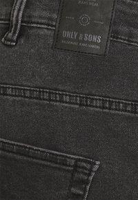 Only & Sons - ONSLOOM LIFE - Straight leg -farkut - black denim - 2