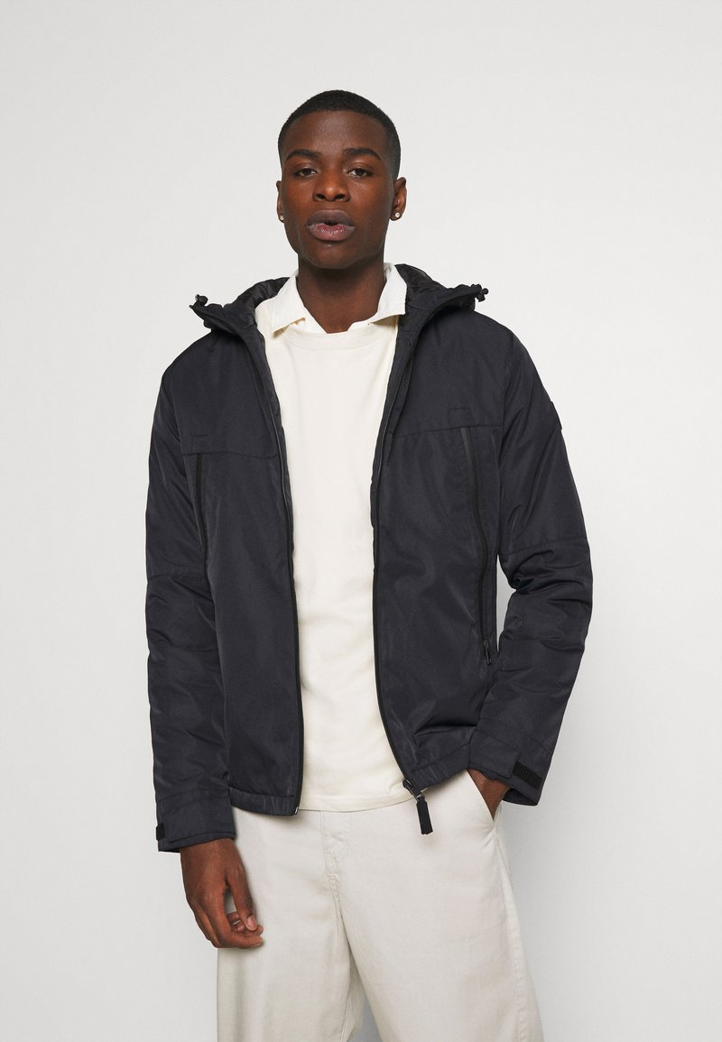 Jack & Jones - JCOBEATLE JACKET - Light jacket - black