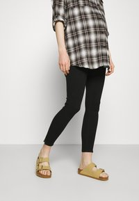 ONLY - OLMKENDELL ETERNAL LIFE - Jeansy Skinny Fit - black - 0