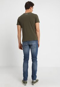 Key Largo - MILK - Basic T-shirt - olive - 2