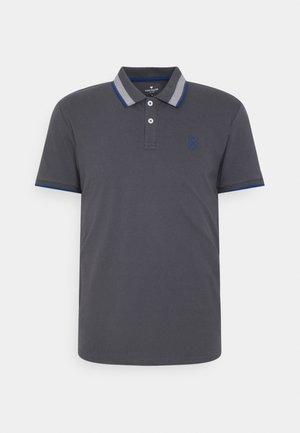 UNDERCOLLAR WORDING - Polo shirt - tarmac grey