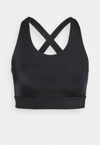 Casall - CROSSBACK  - Medium support sports bra - black - 4