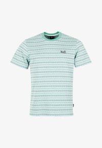 HUF - Print T-shirt - harbor grey - 4