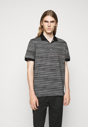SHORT SLEEVE - Polo shirt - black