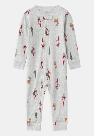 CHRISTMAS UNISEX - Pyjamas - white/multi-coloured
