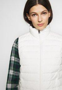 Polo Ralph Lauren - MATTE FINE  - Waistcoat - white - 3
