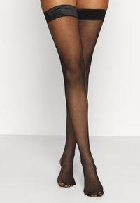KUNERT - RAFFINESSE  - Over-the-knee socks - black - 0