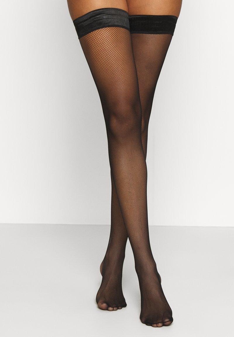 KUNERT - RAFFINESSE  - Over-the-knee socks - black