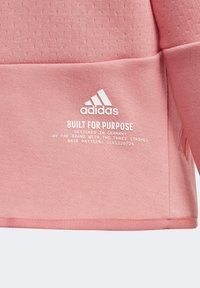adidas Performance - ADIDAS Z.N.E. LOOSE FULL-ZIP HOODIE - Zip-up sweatshirt - pink - 3