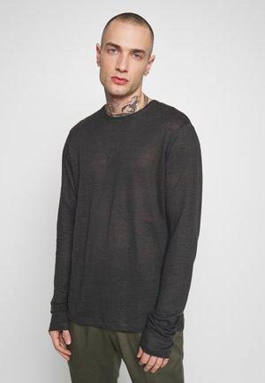 ASHLEY - Long sleeved top - anthracite