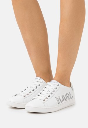 KUPSOLE PUNKT LOGO  - Tenisky - white/silver
