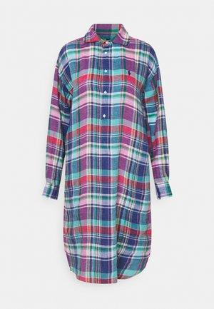 Shirt dress - pink/blue