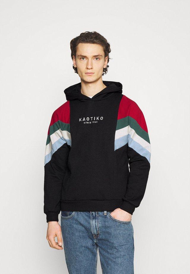 SUD CAP WALKER UNISEX - Bluza z kapturem - black