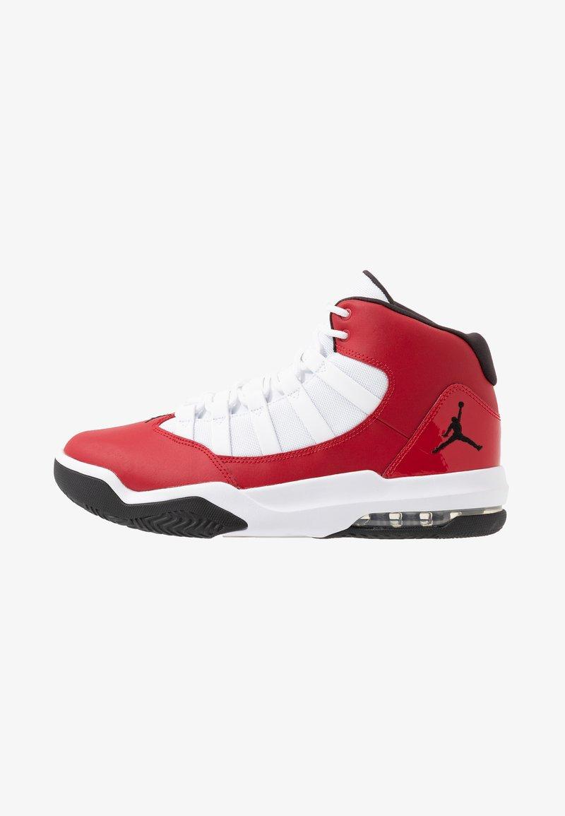 Jordan - MAX AURA - Korkeavartiset tennarit - gym red/black/white