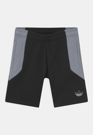 COLOURBLOCK UNISEX - Shortsit - black/light grey