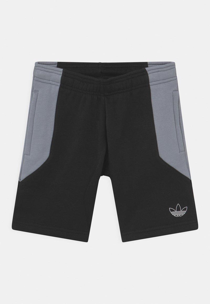adidas Originals - COLOURBLOCK UNISEX - Kraťasy - black/light grey