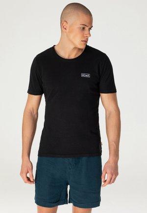 AJI - T-shirt print - black