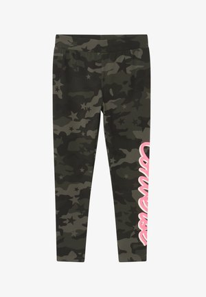 CAMO - Legginsy - shadow green