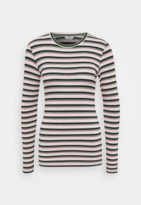 Mads Nørgaard - TUBA STRIPE - Long sleeved top - multi green - 3