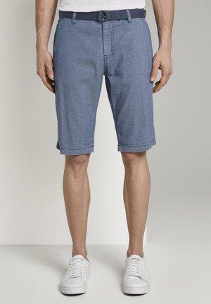Shorts - indigo zig zag structure