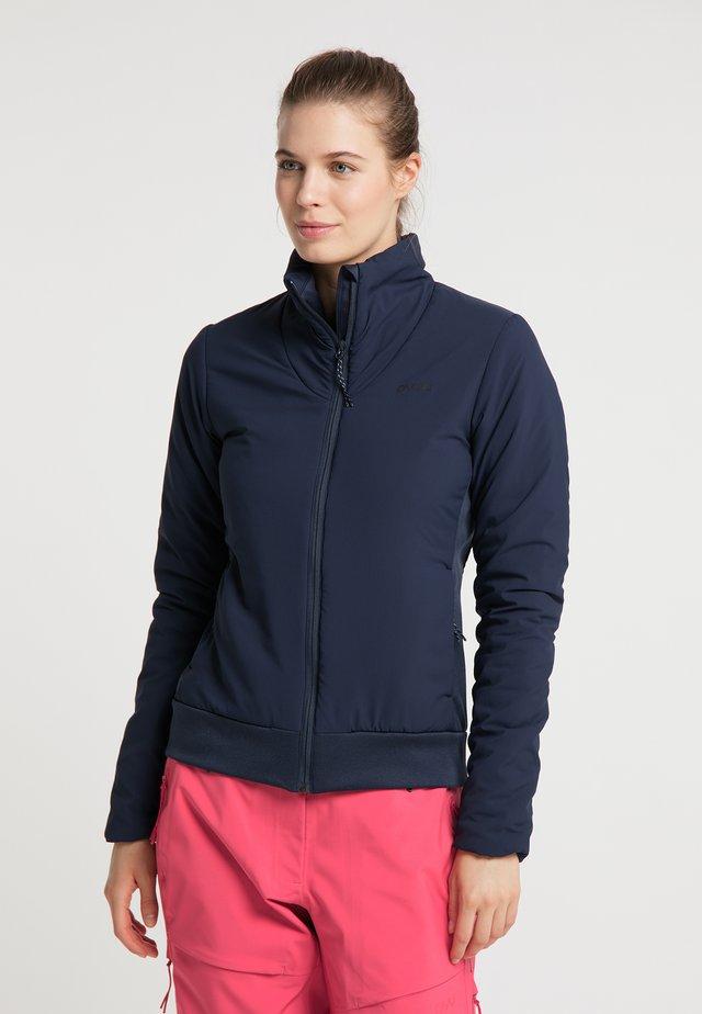 INSULATED ZORA - Soft shell jacket - navy blue