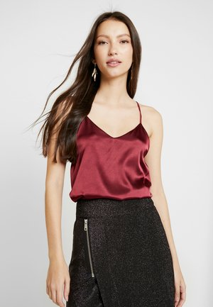 LINDI SINGLET - Top - wine