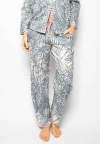 Cyberjammies - Pyjama bottoms - grey leaf - 0