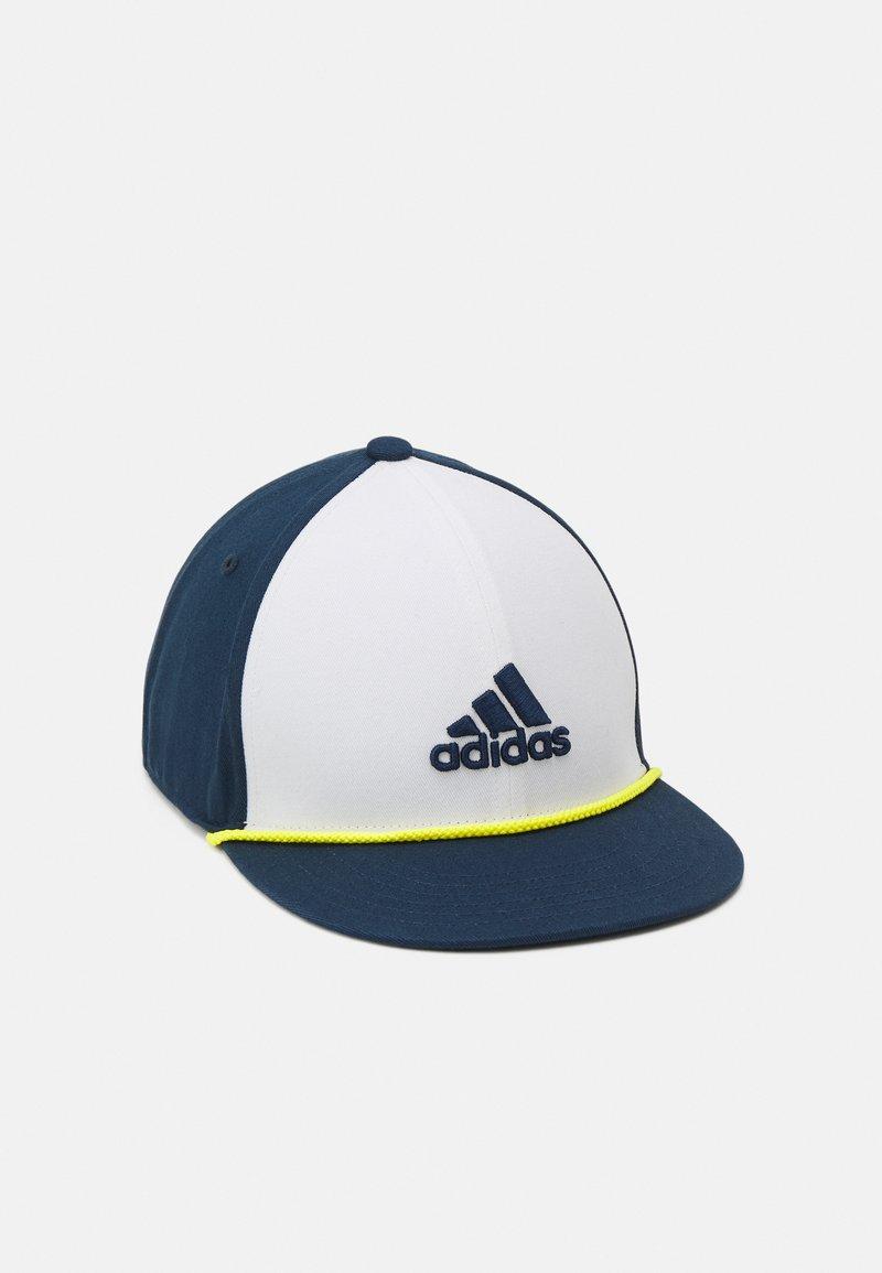 adidas Golf - FLAT BRIM UNISEX - Cap - white/crew navy