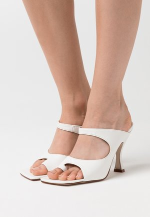 NINA - High heeled sandals - white