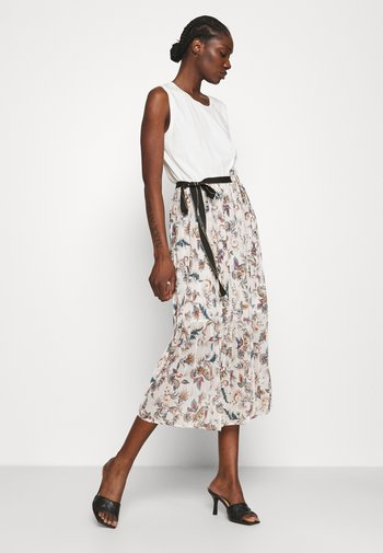 ABITO - Jersey dress - offwhite