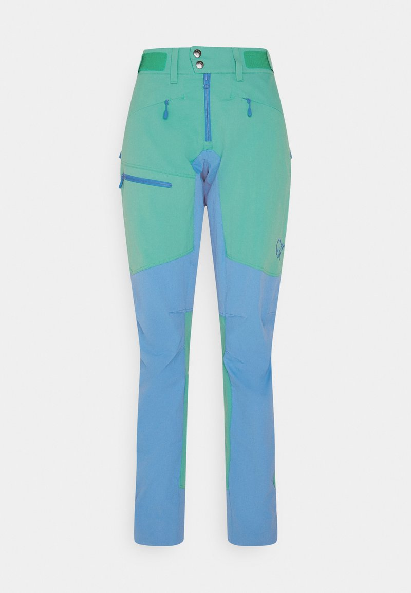 Norrøna - FALKETIND FLEX1 HEAVY DUTY PANTS - Pantalons outdoor - arcadia/campanula