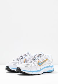 Nike Sportswear - P-6000 - Trainers - white/university blue/metallic silver - 6