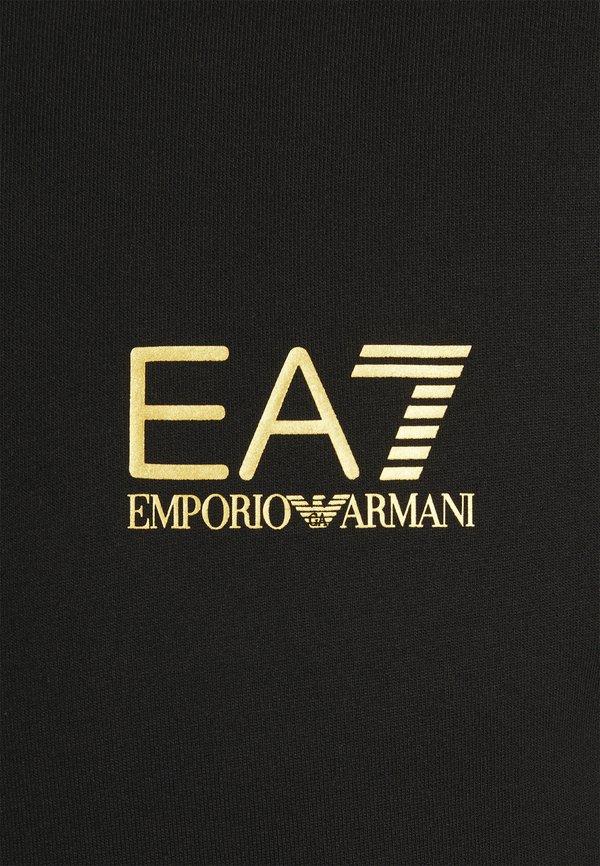 EA7 Emporio Armani Bluza - black/gold/czarny Odzież Męska PGCI