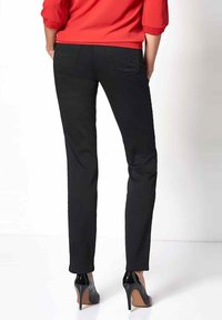 relaxed by TONI - Trousers - black - 2