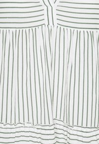 Vero Moda Tall - VMHELI 3/4 SHORT DRESS TALL - Day dress - snow white/laurel wreath - 2