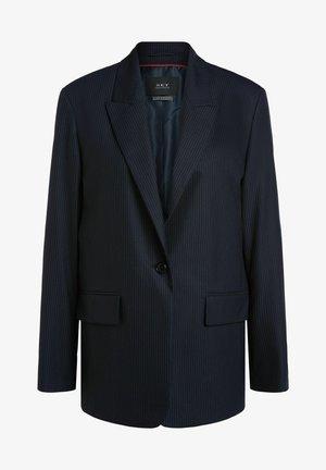 Blazer - dark blue white