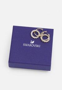 Swarovski - EXALTA HOOP - Boucles d'oreilles - gold-coloured/white - 2