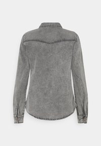 Vero Moda - VMMARIA SHIRT - Button-down blouse - black - 6