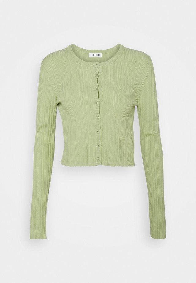 IRENE CARDIGAN - Kardigan - grün