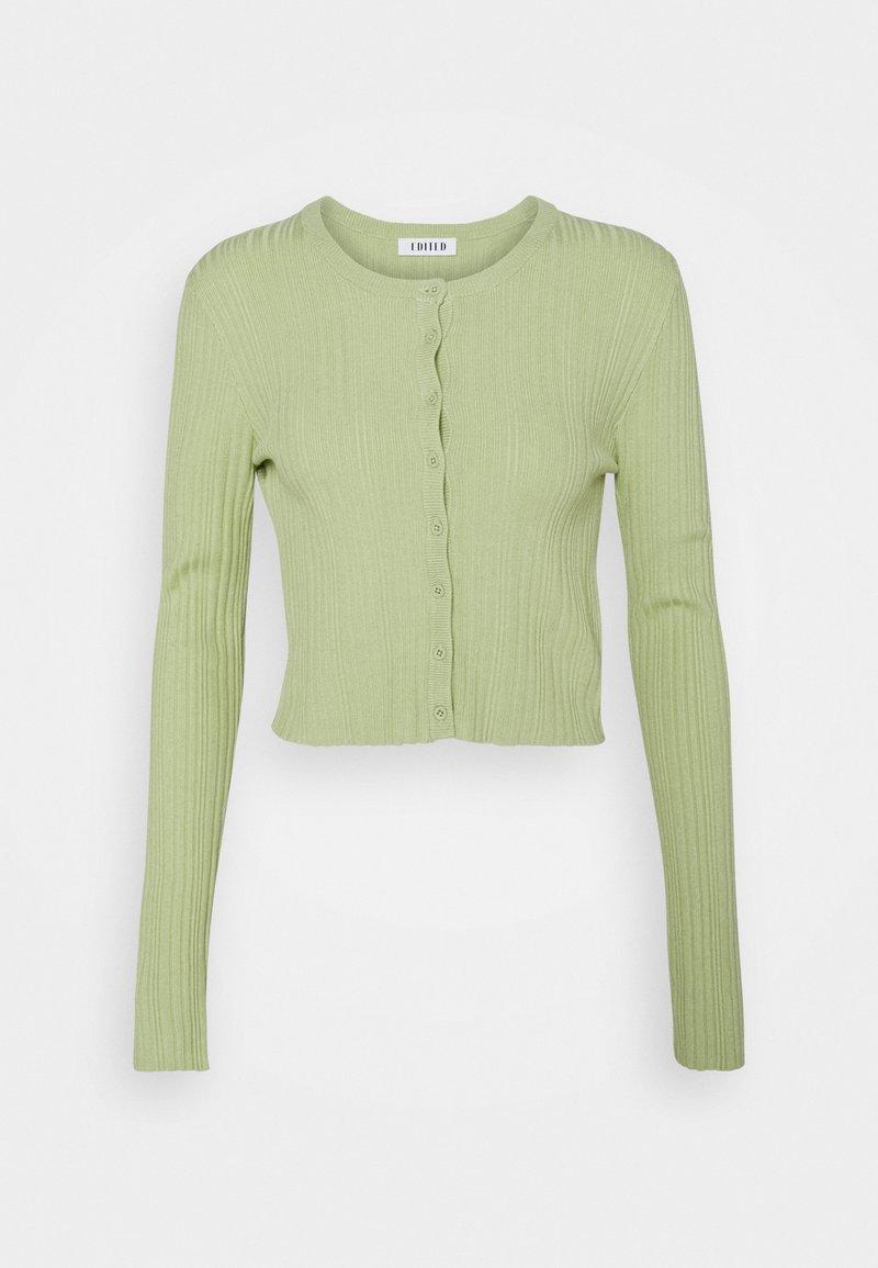 EDITED - IRENE CARDIGAN - Cardigan - grün