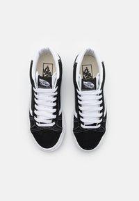 Vans - MID SKOOL 37 UNISEX - Baskets montantes - black/true white - 3