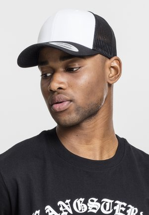 RETRO TRUCKER - Gorra - black/white