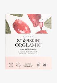 STARSKIN - STARSKIN ® ORGLAMIC™ PINK CACTUS MASK - Hudplejesæt - - - 0