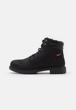 HODGES 2.0 - Lace-up ankle boots - brilliant black