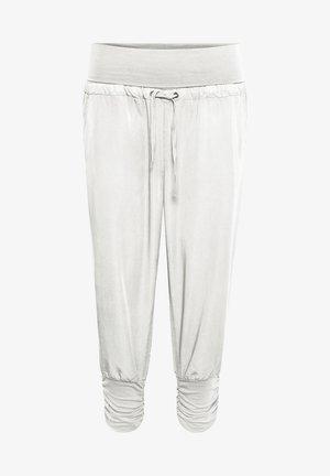 LINE PANTS - Trousers - snow white