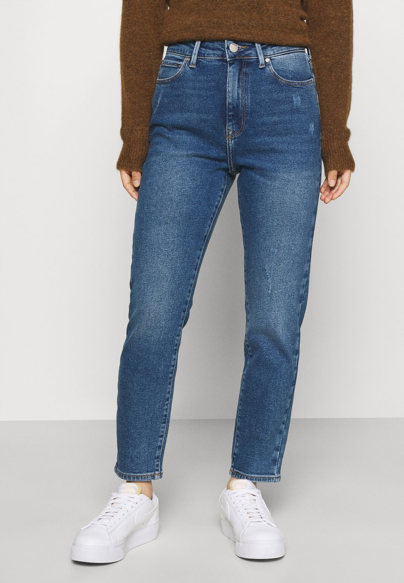 ONLY Petite - ONLEMILY LIFE - Jeans Tapered Fit - medium blue denim