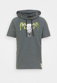 Under Armour - PROJECT ROCK - Print T-shirt - pitch gray - 4