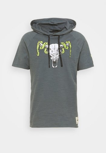 PROJECT ROCK - Print T-shirt - pitch gray