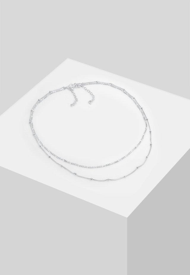 SET - Collier - silver-coloured